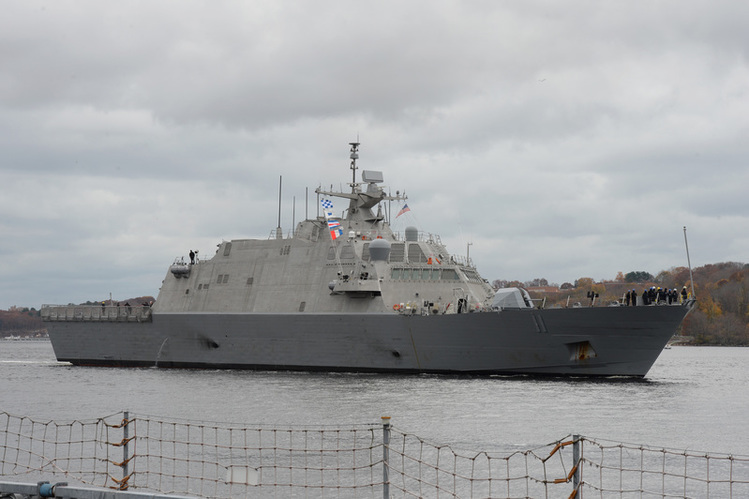 LCS USS Sioux City Commisions Today at U.S. Naval Academy