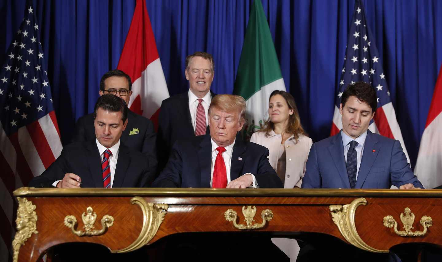 Possible Impeachment Upshot? A Bipartisan Trade Deal