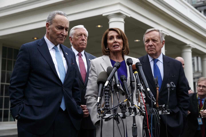 All the Democrats' Men (Plus Nancy)