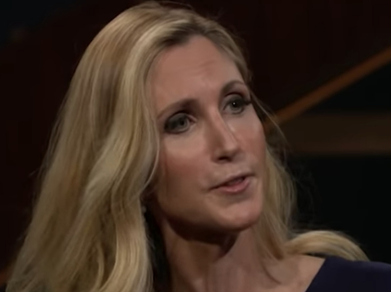 Coulter vs  Maher: Attack Trump For Failed Border Wall Promise,