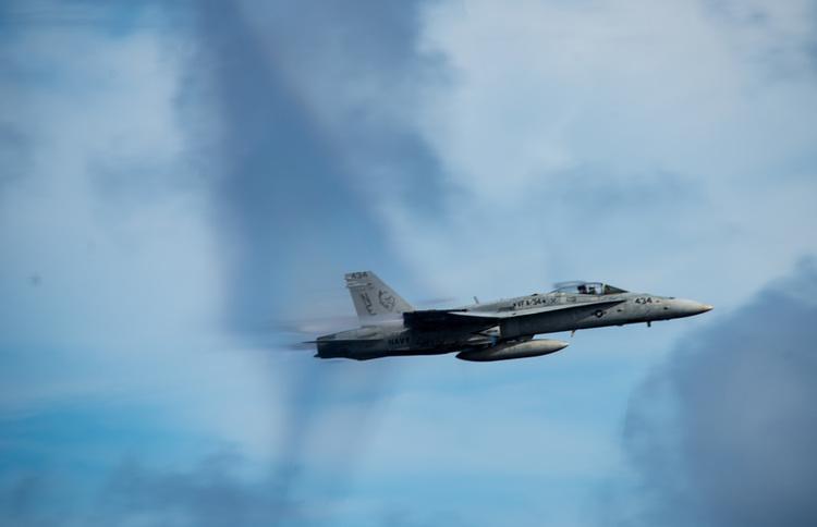 Navy's F/A-18C Classic Hornet Makes Final Flight