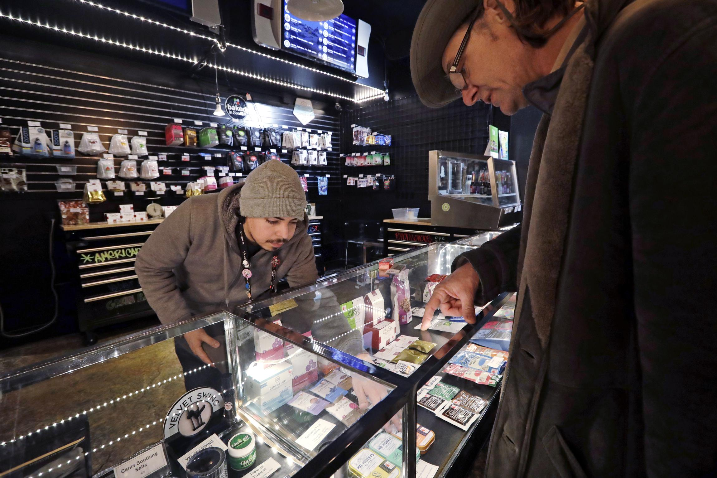 For Legal Pot Shops, Regulation Can Become Mob-Style Extortion