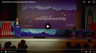 Kauffman Foundation 2019 State of Entrepreneurship Address