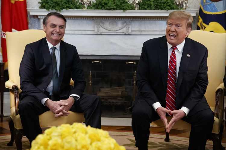 Trump Backs NATO, OECD Membership for Brazil