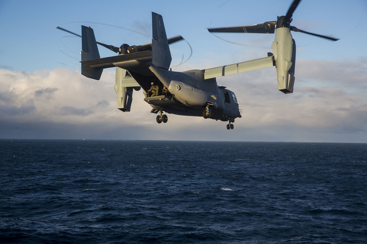 At 30, Osprey Becomes Most Sought-After U.S. Military Aircraft