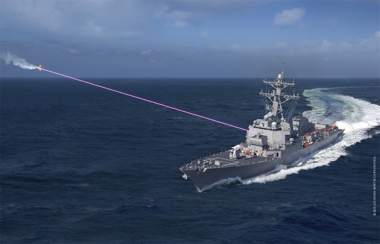 Navy Ready to 'Burn the Boats' with 2021 Laser Installation