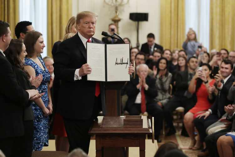 President Trump Takes a Stand for Students' Free Speech | RealClearPolitics