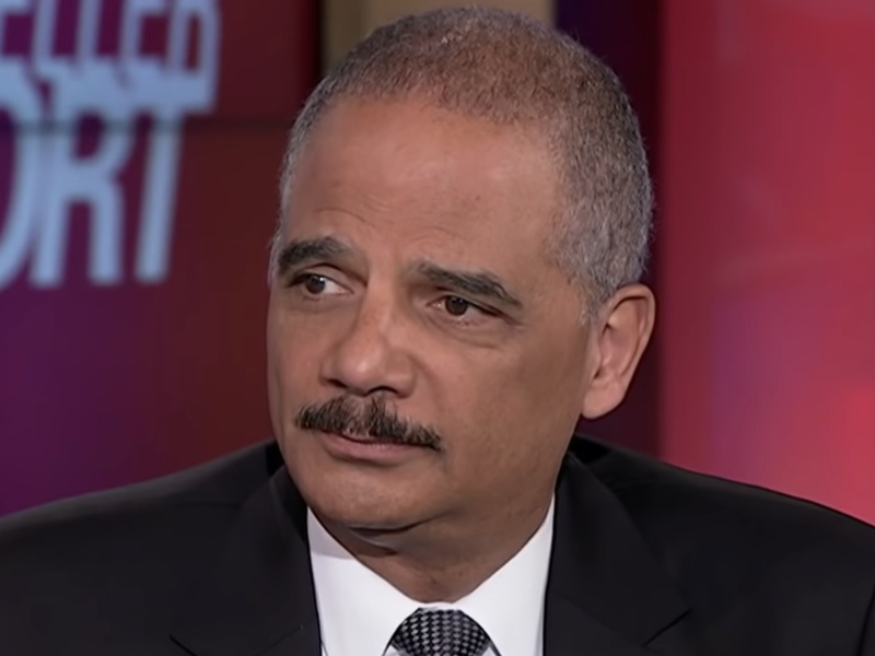 Questions For Eric London Alternative >> Eric Holder To Trump Exactly When Did You Think America Was