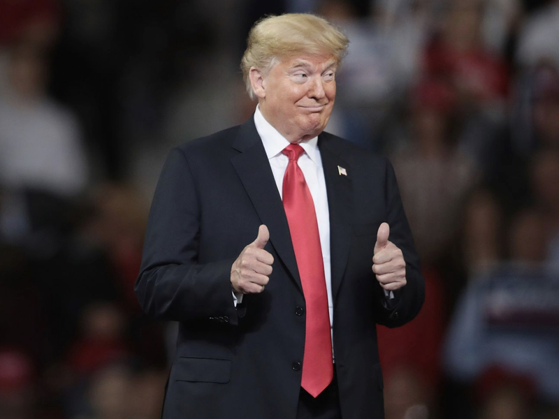 Full Replay: Trump Holds 'MAGA' Rally In Grand Rapids