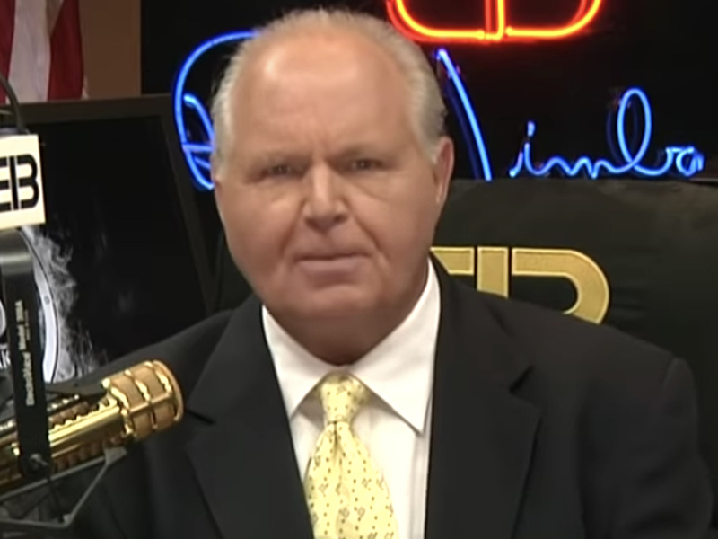 """Rush Limbaugh: Andrew McCarthy's New Book """"Ball Of Collusion"""" Is A Must-Read, Blows Russiagate Theory To Smithereens"""