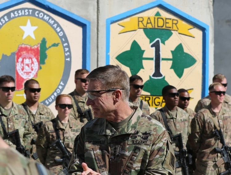 General McConville for CSA Means Army Modernization Will