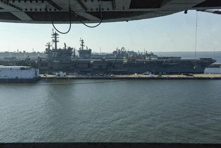 The Navy's $21B Shipyard Modernization Plan