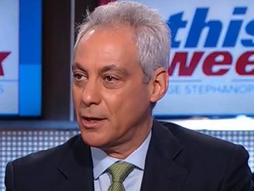 Rahm Emanuel: We Have A