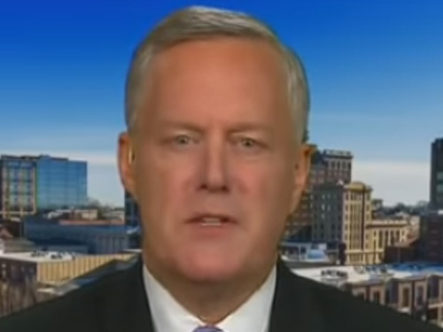 Mark Meadows: Likely We'll See Criminal Referrals Coming