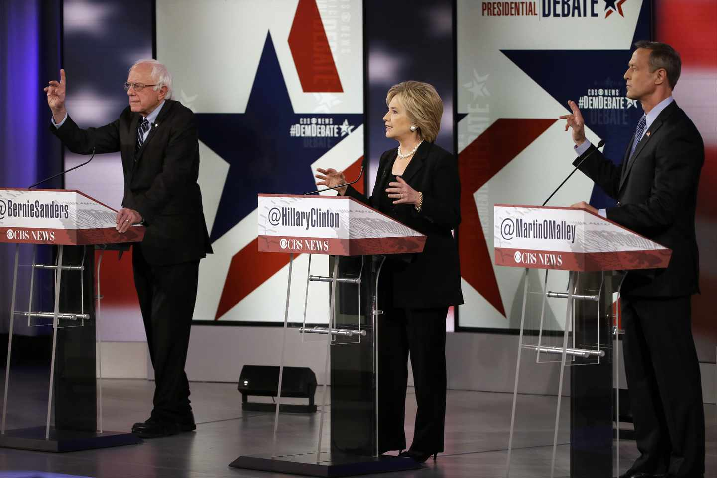 DNC Mulls Higher Bar to Qualify for Primary Debates