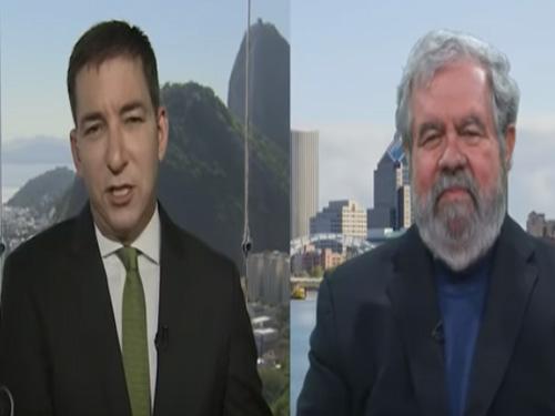 Glenn Greenwald vs  David Cay Johnston On Trump-Russia