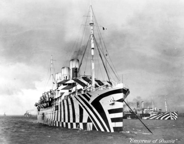 Dazzling Ships of the First World War