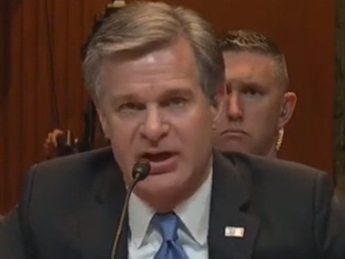 FBI Director Wray: DOJ Inspector General Report Will Answer Whether