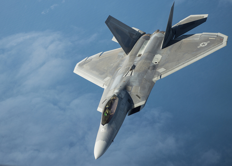 F-22 Raptors Get Lethal New Air-to-Air Missiles