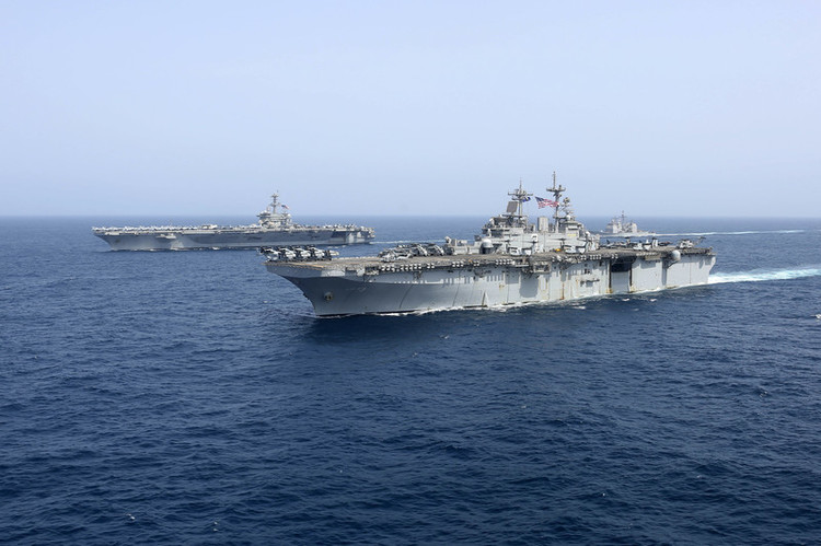 How Iran Could Attack the U.S. Navy's Aircraft Carriers