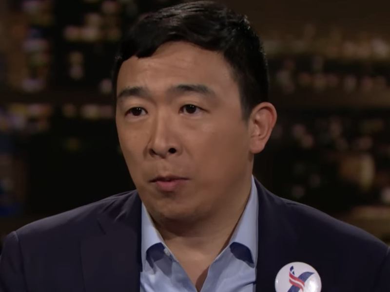 Andrew Yang Zeal To Break Up Big Tech A 20th Century