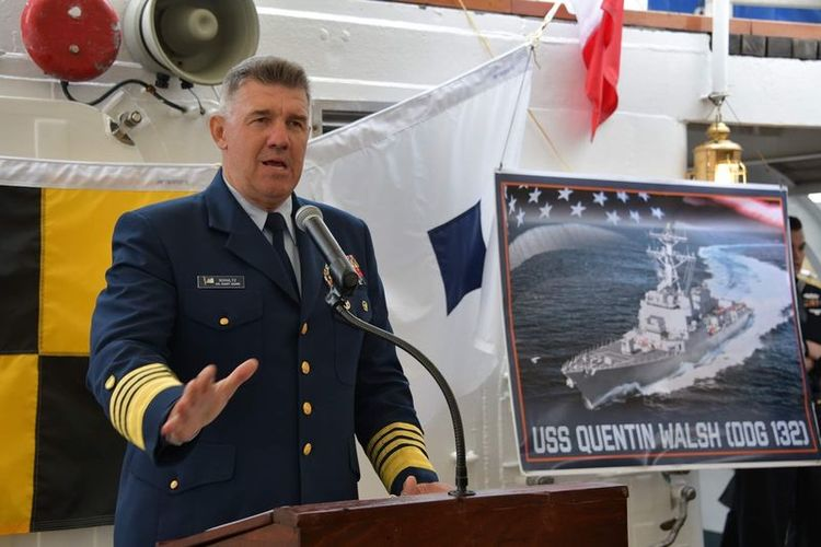 U.S. Navy Names Future Destroyer in Honor of Coast Guard, WWII Hero