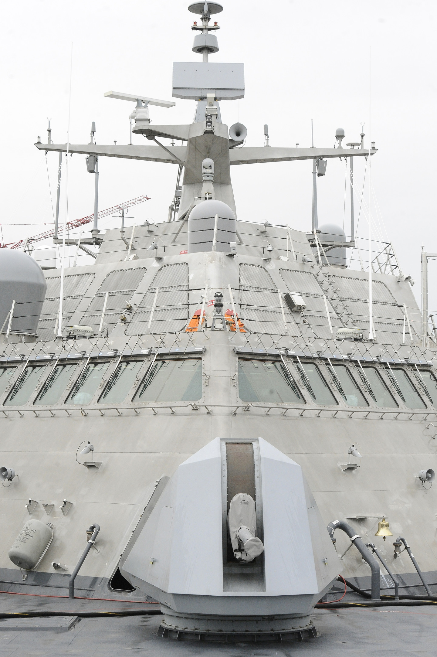 Navy Launches Littoral Combat Ship USS Minneapolis-St. Paul