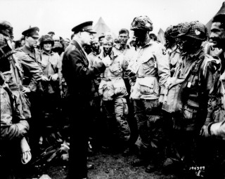 Eisenhower Recalls Sacrifices of D-Day, 20 Years Later.