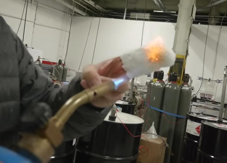Watch: Aerogel Can Make You Fireproof and Waterproof | Video