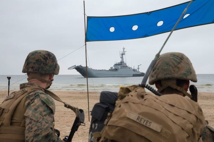 New Amphibious Warfare Tactics Tested at BALTOPS 2019
