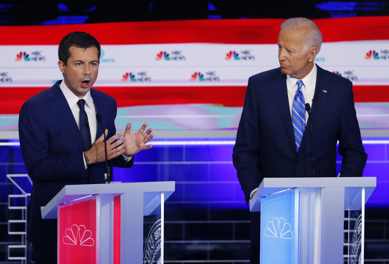 Buttigieg Leads in New Hampshire and Iowa; Biden Drops