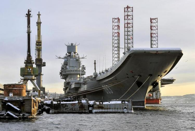 Russia's Only Aircraft Carrier—A 2nd Lease on Life or a Slow Death?