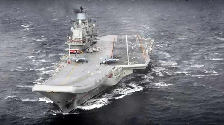 Can Russia's Only Aircraft Carrier Survive?