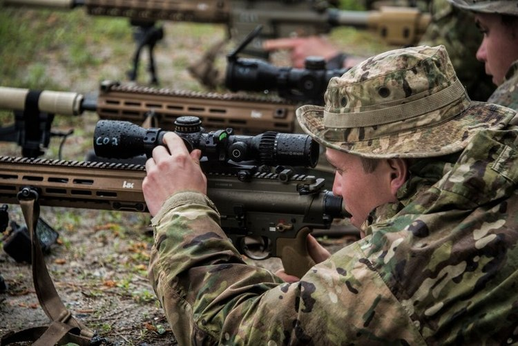 This Unit's Going Airborne With Army's Newest Sniper Rifle