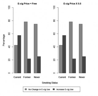 The Impact of E-Cigarette Price Changes on Vaping and Smoking Behaviors