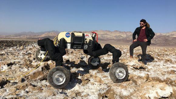 NASA Building Robots That Can Climb Rock & Ice Cliffs