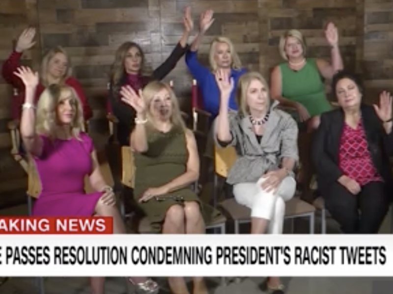 CNN Focus Group Of Republican Women Voters: Trump Right