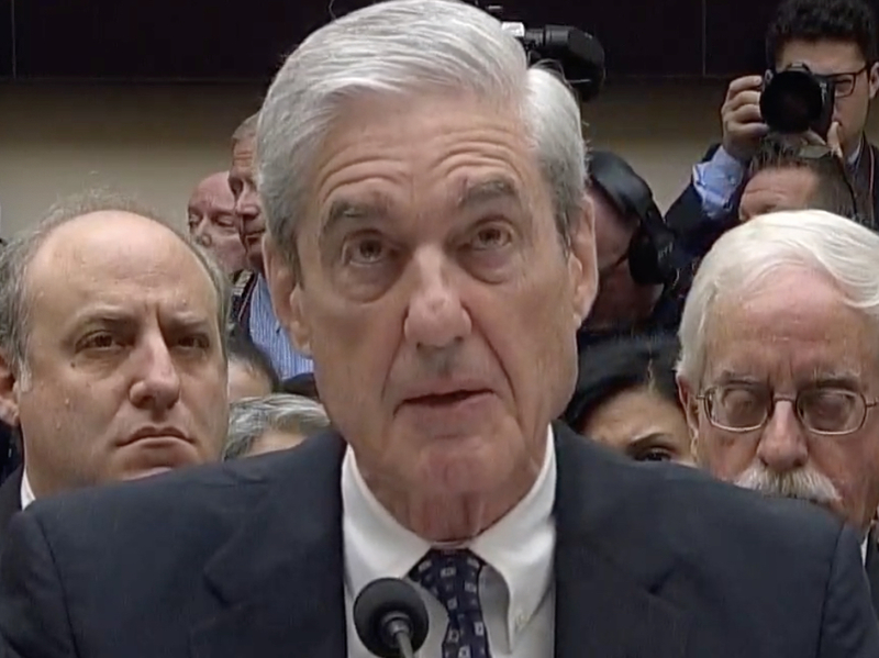 Mueller: Trump Can Be Charged With Obstruction After Leaving Office