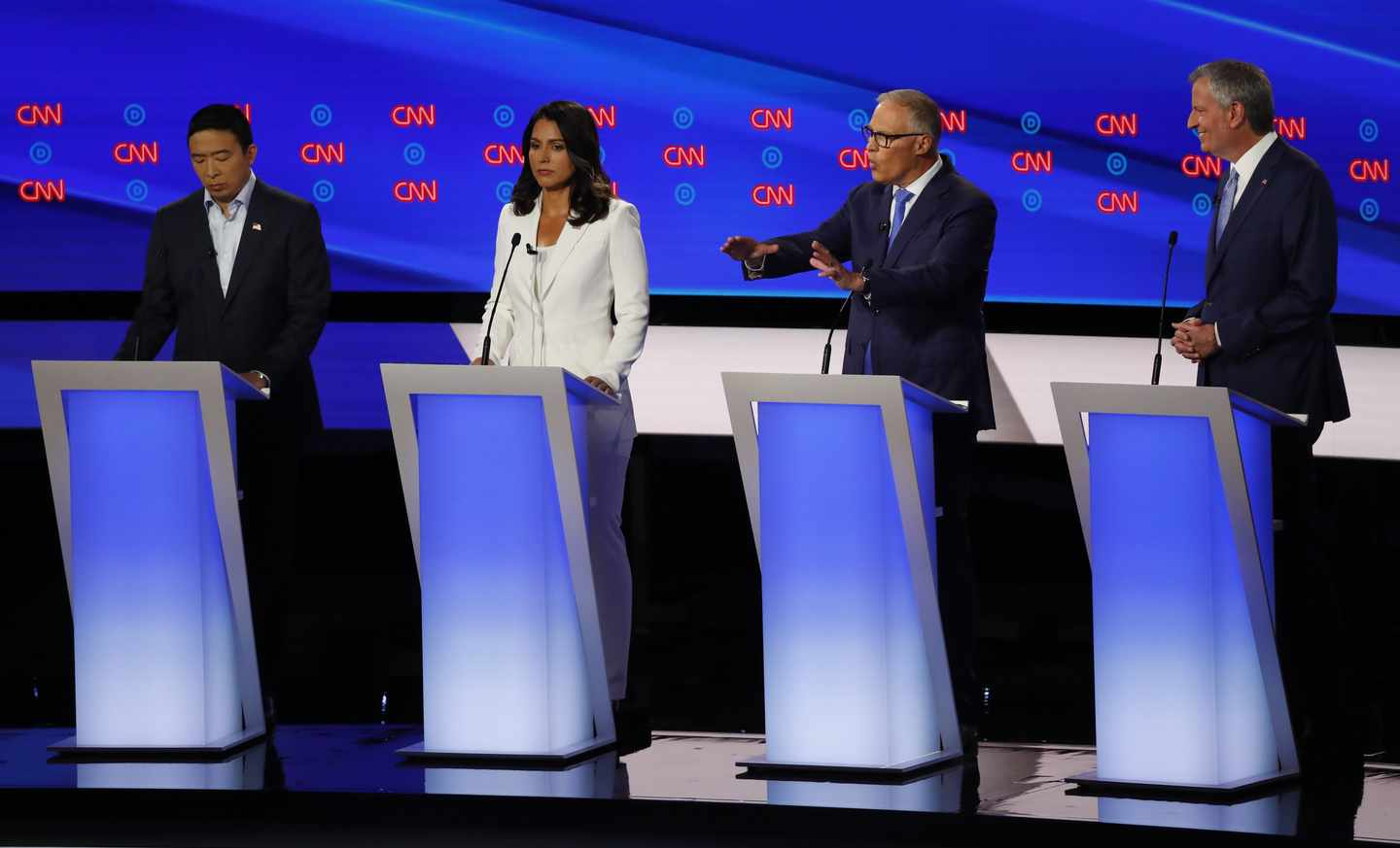 Gabbard Victimized by DNC's Dubious Debate Criteria