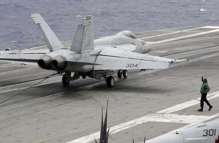'Peace Through Strength': Navy Sails Carrier Through the South China Sea
