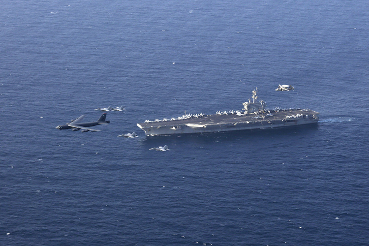 Why China Can't Target U.S. Aircraft Carriers