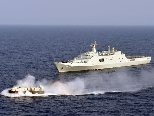 China May Set Its Navy on Course for the Persian Gulf