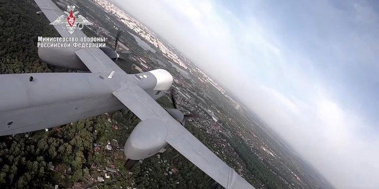Russia's New High-Altitude Drone Makes Maiden Flight