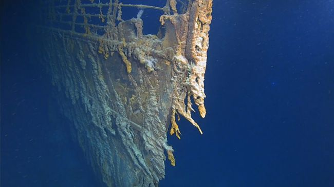 The Titanic Shipwreck Is Collapsing Into Rust