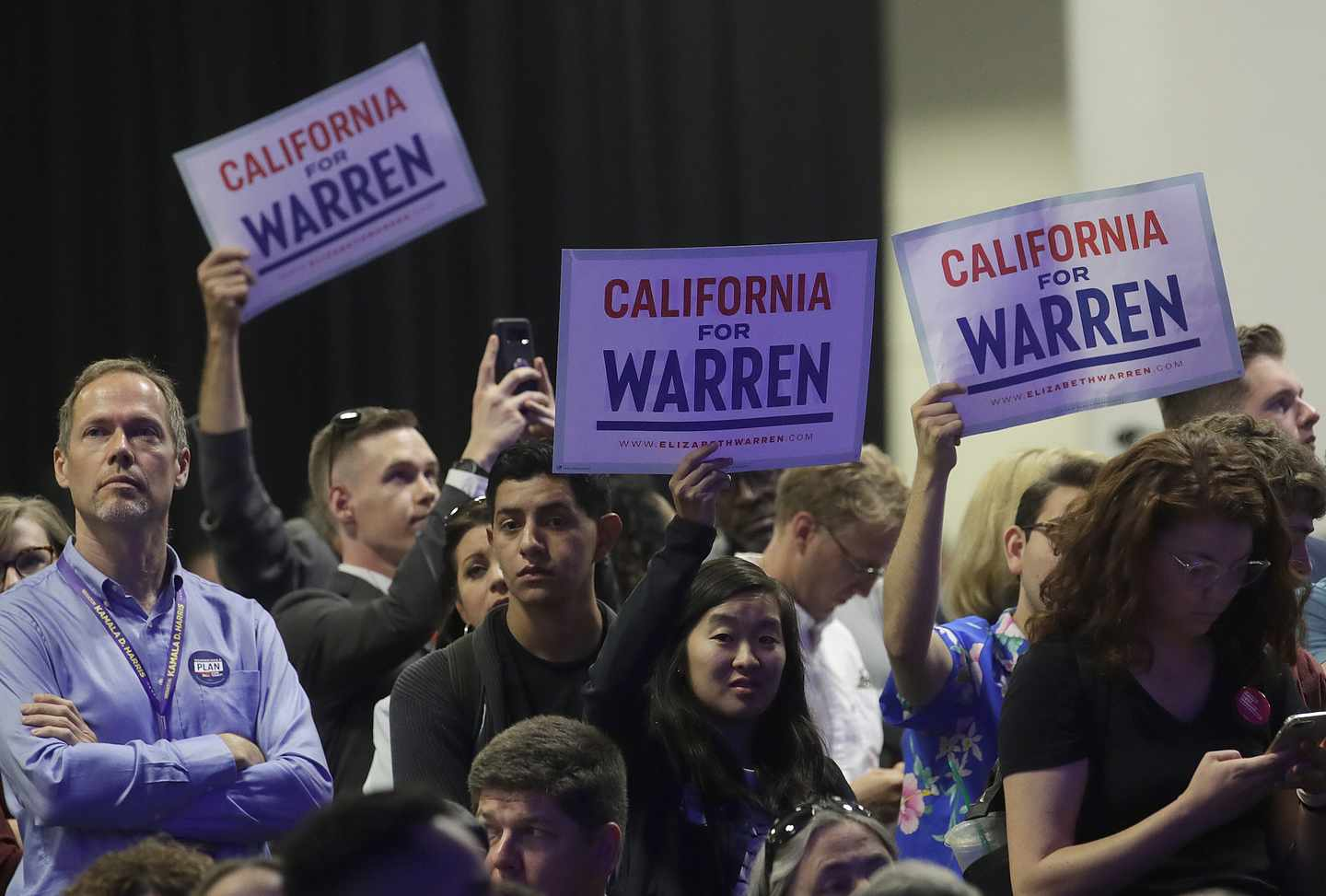 Could California be Warren's Golden Ticket?