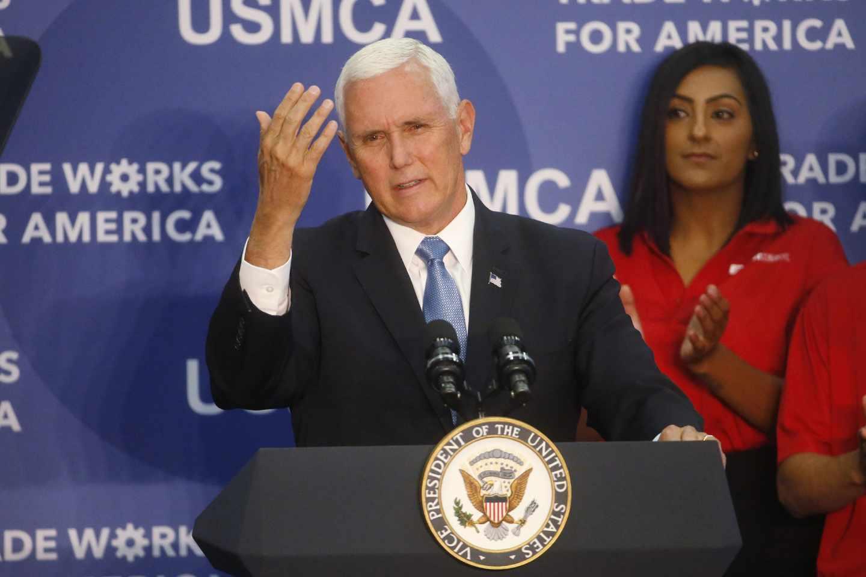 Pence Targets Freshman Dems to Press Pelosi on USMCA