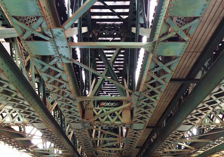 Could a Rusty Bridge Generate Electricity?