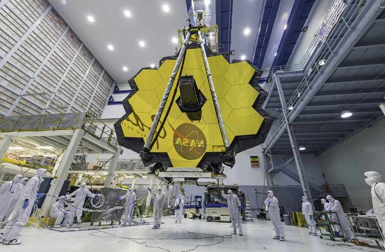 James Webb Space Telescope Is Finally 100% Assembled