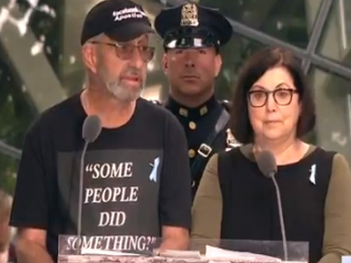 """Man Blasts Rep. Ilhan Omar At 9/11 Memorial Ceremony: """"Some People Did Something?"""" """"Why Your Confusion?"""""""