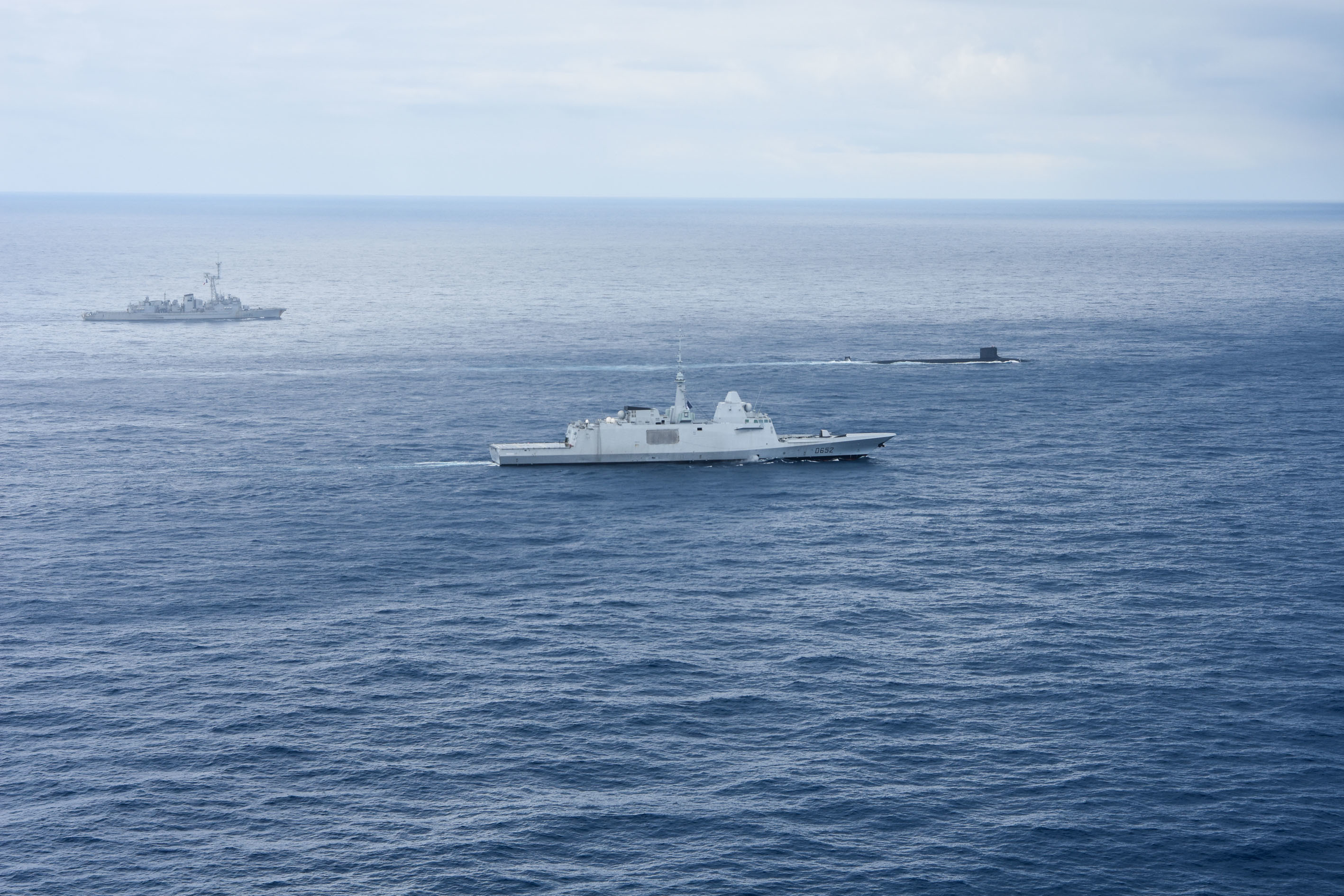 U.S.–French Naval Partnership Is Anchored Deep